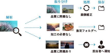 POINY1 : 大量画像の自動化処理によるオペレーターの制作業務効率化
