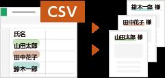 CSVデータをもとに自動でバリアブルコンテンツを生成!